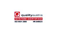 QUALITY AUSTRIA: Certificación ISO 9001 – 2000 Registro: NR 04863/0